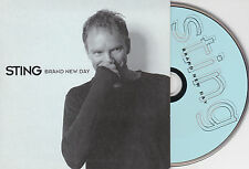 CD CARTONNE (CARDSLEEVE) 2T STING BRAND NEW DAY NEUF