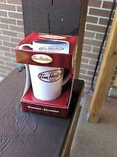 TIM HORTON'S MINI CERAMIC DRINK-IN COFFEE CUP ORNAMENT *NEW IN BOX* 2011