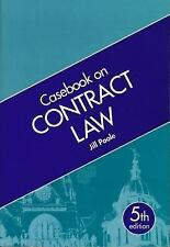 Casebook on Contract by Jill Poole (2001, UK-Paperback, Revised)