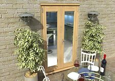PATIO FRENCH DOORS - 4ft 1200mm 44mm - 1.7 U-VALUE - READY TO PAINT OR STAIN