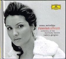 Anna Netrebko: Russian Album Deluxe-ED CD + DVD Gergiev Eugene Onegin Letter scene