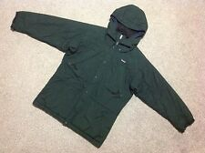 VINTAGE PATAGONIA THIN PADDED QUILTED MOUNTAIN PARKA JACKET WITH HOOD IN SMALL