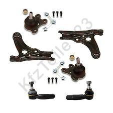 2 WISHBONE WITH BALL JOINTS 2x TRACK ROD END VW POLO 6N TRACK ROD ENDS