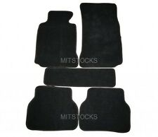 FIT FOR 1997 - 2003 BMW E39 5-SERIES BLACK CARPET FLOOR MATS 5 PCS NEW