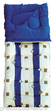 ROYAL UMBRIA BLUE 50OZ SUPER KING SIZE SINGLE SLEEPING BAG camping thick large