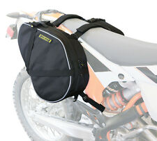 Dual Sport Motorcycle Saddlebags - Black Universal Nelson Rigg RG-020