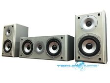 DIGITAL AUDIO 3 PIECE HIGH QUALITY HOME THEATER SURROUND SOUND SPEAKER SYSTEM