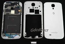 OEM AT&T Samsung Galaxy S4 i337 M919 Housing Cover Frame Door Back Case White