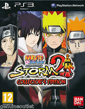 Naruto Shippuden Ultimate Ninja Storm 2 Collector's Edition Playstation 3 NEW