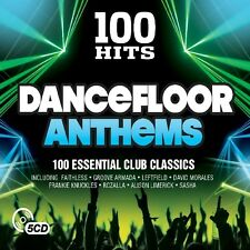 100 Hits-DANCEFLOOR Anthems New DigiPack Edition (Freestyler, El Nino) 5 CD NEUF