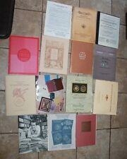 14 numismatic books AUCTION CATALOGS ADAMS, KOLBE, FORD, RYER coin money