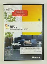 Microsoft Office 2003 Professional Edition Pro non-OSB Vollversion Deutsch