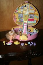 Vintage 1992 Polly Pocket Large Lucy Locket With Doll & More