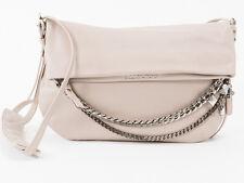 New Jimmy Choo Biker/S Beige Leather Bag