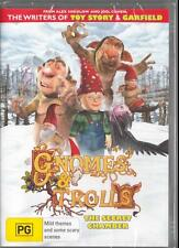 GNOMES & TROLLS - BY THE WRITERS OF TOY STORY - NEW REGION 4 DVD FREE LOCAL POST