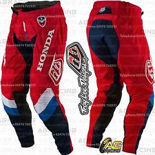 "Troy Lee Designs 2017 SE Air Corsa Honda Red White Blue Pants 30"" Motocross"