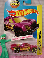 Case F 2015 Hot Wheels OFF TRACK #79∞Purple Haze; 27∞MMSB RACING∞Road Rally