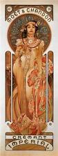 Moet & Chandon: Cremant Imperial Alphonse Alfons Mucha Art Nouveau Poster Print