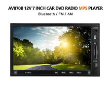 "7"" Bluetooth TFT Car DVD MP5 Player Radio Touchscreen RDS FM AM Hand Free"