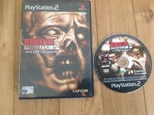 PS2 GAME - RESIDENT EVIL SURVIVOR 2 - CODE VERONICA Without Booklet