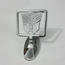 Car Chrome ABS Hood Ornament Badge Emblem Transformers Autobot Silver