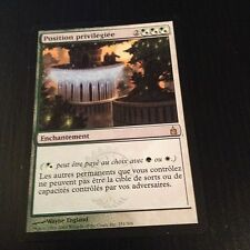MTG MAGIC RAVNICA PRIVIGELED POSITION (FRENCH POSITION PRIVILEGIEE) NM