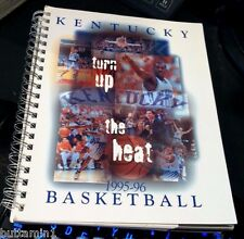 KENTUCKY WILDCATS 1995-96 Basketball MEDIA GUIDE National Champions