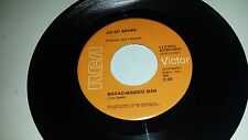 JIM ED BROWN Helpin' Her Get Over Him / Broad-Minded  RCA 0059 RARE COUNTRY 45