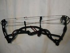 "2011 Hoyt Carbon Element Compound Bow! RH 26""-28"" 40-50lb. Black/Red Finish"
