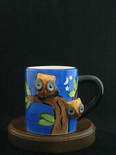 Fine Ceramic 3D Owls Mug by Mulberry Home Collection