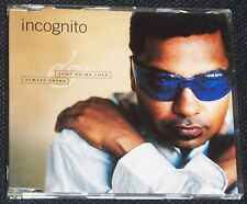 Incognito - Jump to My Love + Always There - 4 Track CD Single