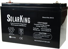 SolarKing 110AH Deep Cycle Battery
