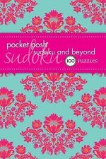 Pocket Posh Sudoku and Beyond : 100 Puzzles by Puzzle Society Staff (2013, Paper