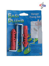 Toilet Fixing Set For Wall Hung  Pack of 2 Easi Plumb HF1