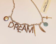 Authentic Lucky Brand Dream Letter Charm  Bracelet, nwt