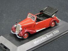 Schuco Mercedes-Benz 170 V Cabriolet offen 1:43 Red (JS)