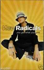 NEW RADICALS - YOU GET WHAT YOU GIVE 1999 UK CASSINGLE CARD SLEEVE SLIP-CASE