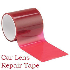48mm x 1,5m CAR CARAVAN VAN TRUCK LENS RED REPAIR TAPE REAR LIGHTS BRAKE AB