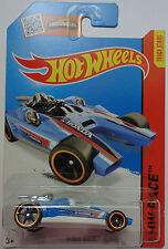 2015 Hot Wheels HW RACE Honda Racer 182/250 (Blue)(Int. Card)