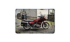 Bmw R80Rt 1986 Motorbike A4 photo Retro Bike
