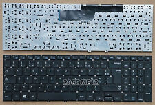 for Samsung NP270E5V NP275E5V NP270E5E Keyboard French Français Claiver No Frame