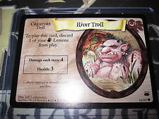 HARRY POTTER DIAGON ALLEY CARD GAME RIVER TROLL 68/ 80 COM ENGLISH MINT NEUF