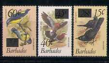 Barbados 1979 Birds/Nature/Wildlife 3v surch (n27409)