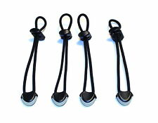 SHOCK CORD RETENTION TETHER - NIGHT OPS X4 (SCRT) Bushcraft, Survival, Rescue,
