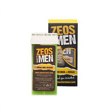 Mens Wax Waxing Kit Chest Back Unwanted Hair Removal  All Skin Types Zeos REFILL