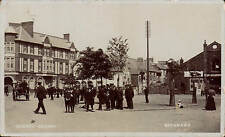 Brynmawr. Market Square by A.& G.Taylor. Cinema at right.