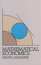 Dover Books on Computer Science Ser.: Mathematical Economics by Kelvin...