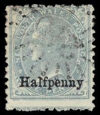 """NEW SOUTH WALES 92 - Queen Victoria """"Provisional"""" (pa49692)"""