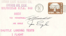 JOE ENGLE - COMMEMORATIVE ENVELOPE SIGNED CO-SIGNED BY: TED MENDENHALL