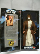 "Star Wars 12"" Action Figure * OBI-WAN KENOBI * with Lightsaber BRAND NEW Rare"